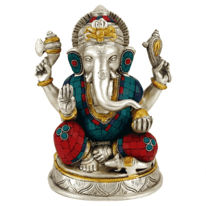Ganesha Statue Mosaic - 25 Cm