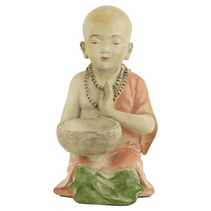 Monk Candle Holder - 34 Cm