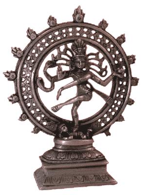 Shiva Nataraj Brass Single-colour - 20 Cm