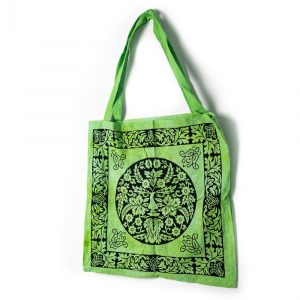 Tote Bag Cotton - The Green Man Celtic (45 cm)