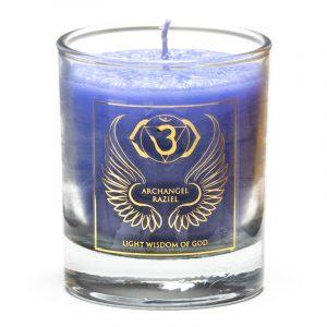 Votive Scented Candle Archangel Remiel Chakra 6