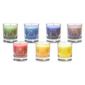 Set of 7 Archangel Votive Scented Candles
