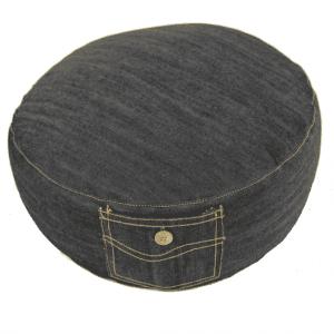 Meditation Cushion Jeans Dark