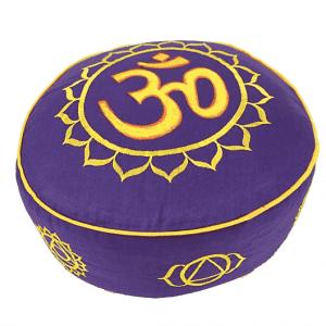 Meditation Pillow Chakra (violet)