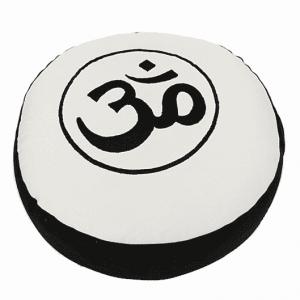 Meditation Cushion Ohm (black Cream)