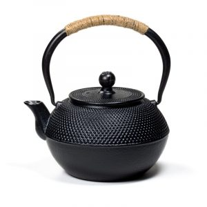 Japanese Style Tetsubin 1.2 Litre Cast Iron Teapot