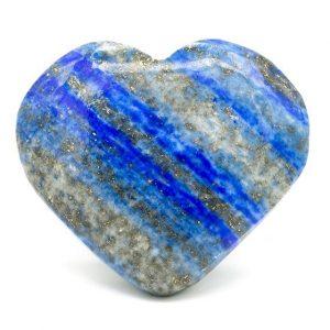 Lapis Lazuli Cuddly stone Heart shaped