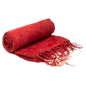 Meditation Wrapcloth Learned Red