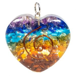 Orgon Hanger Heart-shaped Multi-coloured