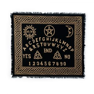 Pendulum Mat Black with Gold Lettering (60 x 70 cm)
