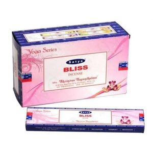 Satya Incense Nag Champa Bliss (12 packets)