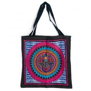 Tote Bag Cotton - Hamsa Hand (45 cm)