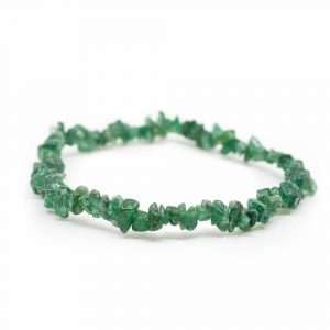 Gemstone Chip Bracelet Aventurine Green