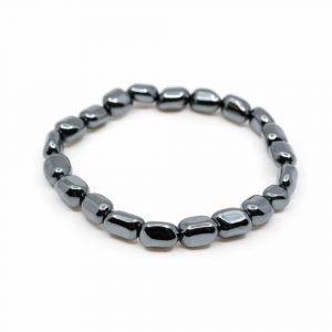 Gemstone Bracelet Hematite Tumbled Stones