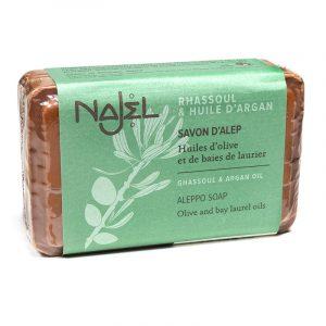 Aleppo Soap Argan Oil With Lava Earth