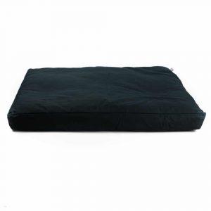 Meditation Mat Zabuton Black - 86 x 66 x 6 cm - Incl. Inner Cover