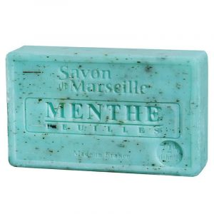 Natural Marseille Soap Mint Leaves