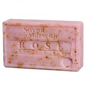 Natural Marseille Soap Rose petals