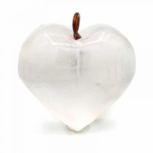 Selenite Pendant Heart