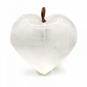 Selenite Pendant Heart