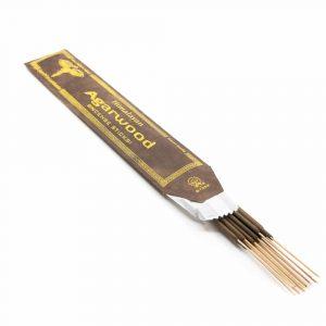Tibetan Incense Sticks - Agarwood (15 pieces)