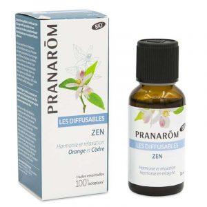 Pranarôm Zen Nebulisation mixture Essential oils