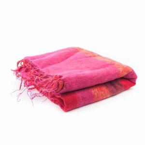 Meditation Poncho XL Red - Pink - Orange