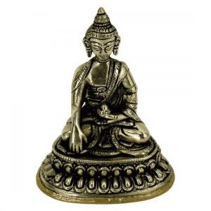 Little statue Buddha Akshobya - 10 cm (330 grams)