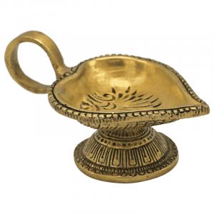 Atmospheric light Oriental Heart shape oil lamp