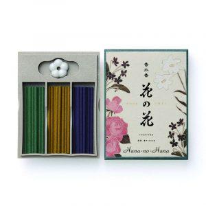 Hana No Hana Incense Giftbox Rose/Lily/Fiddle (30 sticks)