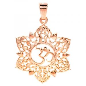Pendant Ohm Lotus Pink Gold color