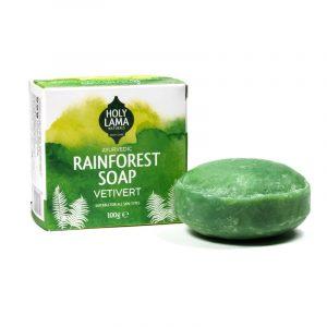 Holy Lama Naturals Ayurvedic Soap 'Rainforest