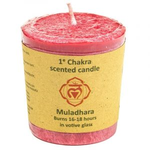 Odor candle Design 1st Chakra