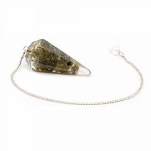 Orgone Pendulum - Labradorite