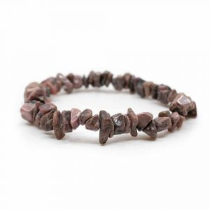 Gemstone Chip Bracelet Rhodonite
