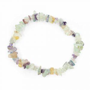 Gemstone Chip Bracelet Fluorite
