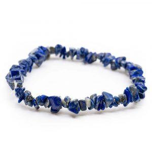 Gemstone Chip Bracelet Lapiz Lazuli