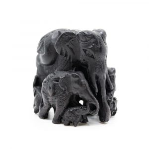 Statue Elephant Family (10 cm)