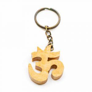 Wooden Keychain OHM Handmade (40 mm)