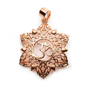 Pendant Ohm Lotus Copper-coloured (30 mm)