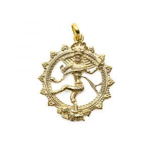 Pendant Shiva Gold-coloured (35 mm)