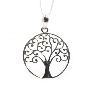 Pendant Tree of Life 925 Sterling Silver (20 mm)