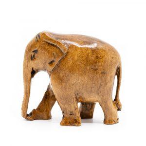 Wooden Elephant Statue (8 cm)