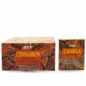 Pending-geen foto-G.R Wierook Kegel Cinnamon (6 pakjes)