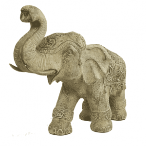 Elephant - Happiness, Strength And Courage - 34 Cm