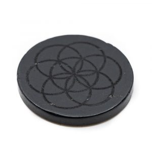 Phone Sticker Shungite - Seed of Life (30 mm)