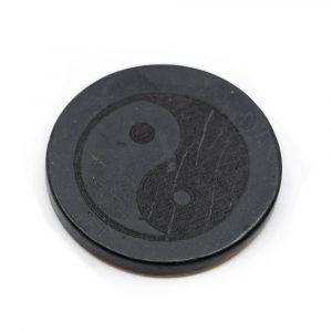 Phone Sticker Shungite - Yin-Yang (30 mm)