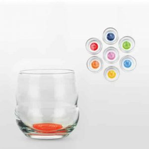 Chakra Drinking glasses (Set of 7 chakra Drinking glasses - with Chakra symbol and Text)