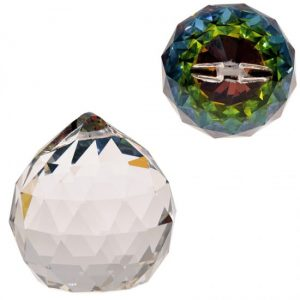 Rainbow Crystal Bol Multicolor Aaa Quality (5 Cm)