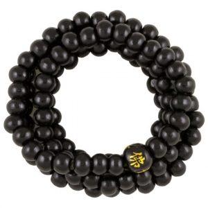 Mala Bracelet Elastic Black